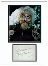 Geoffrey Bayldon Autograph Signed Display - Catweazle